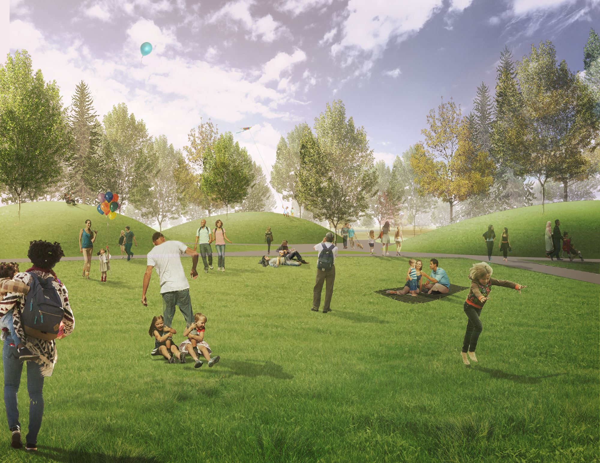 Fred Richards Nature + Ecology Park Master Plan Receives Honor Award