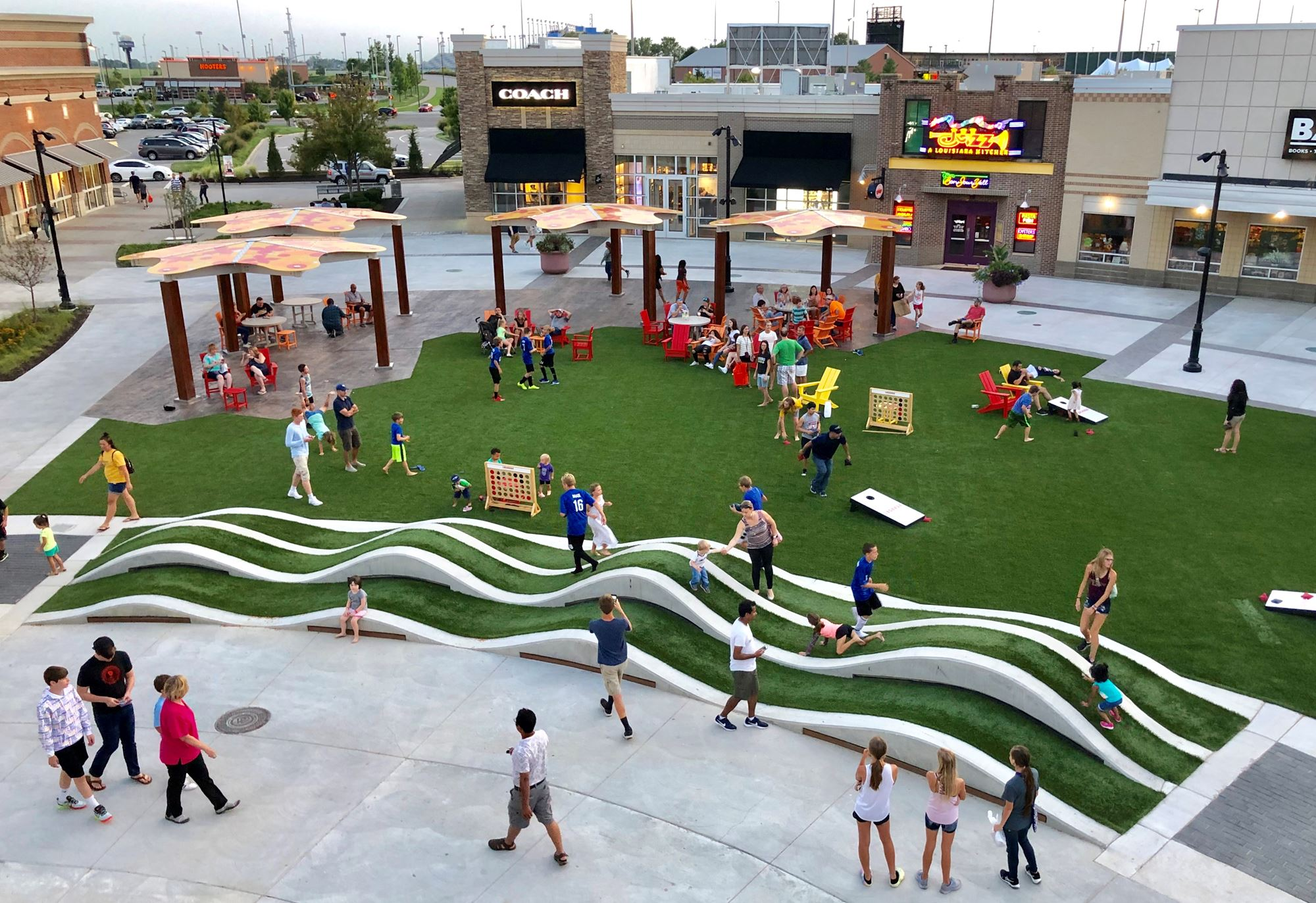 The Lawn at the Legends - Grand Opening