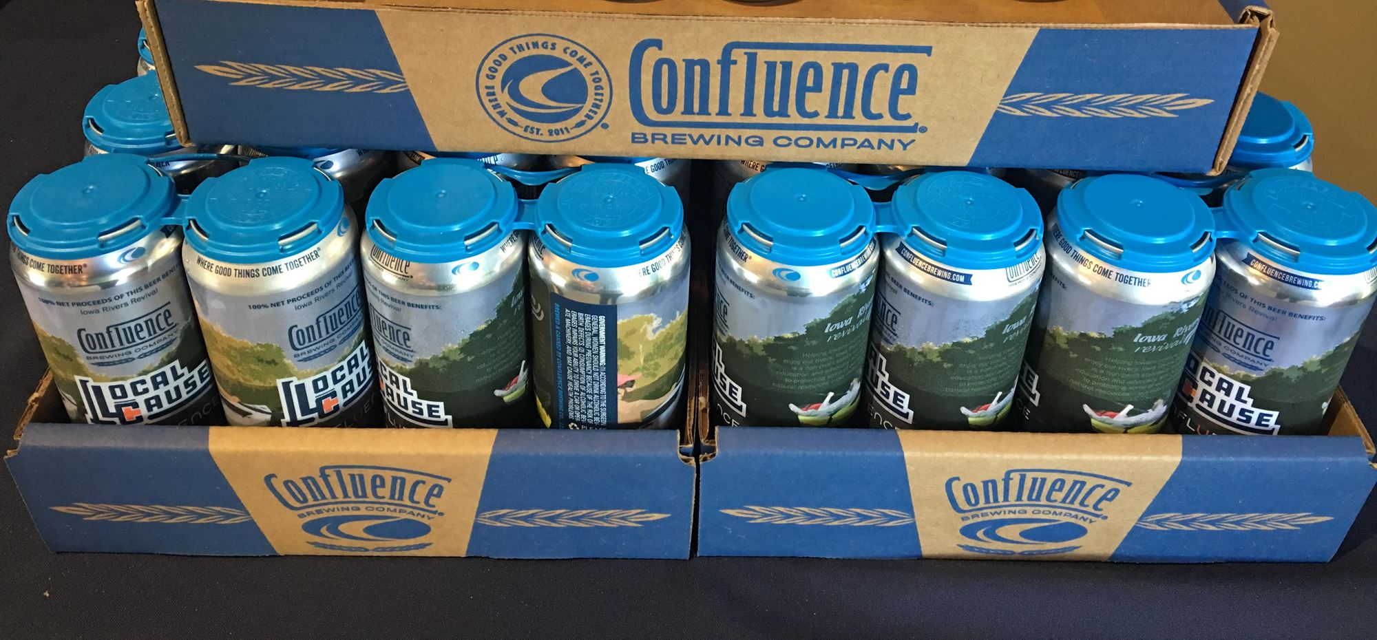 Beer Collaboration - Confluence Brewing Company and Iowa Rivers Revival
