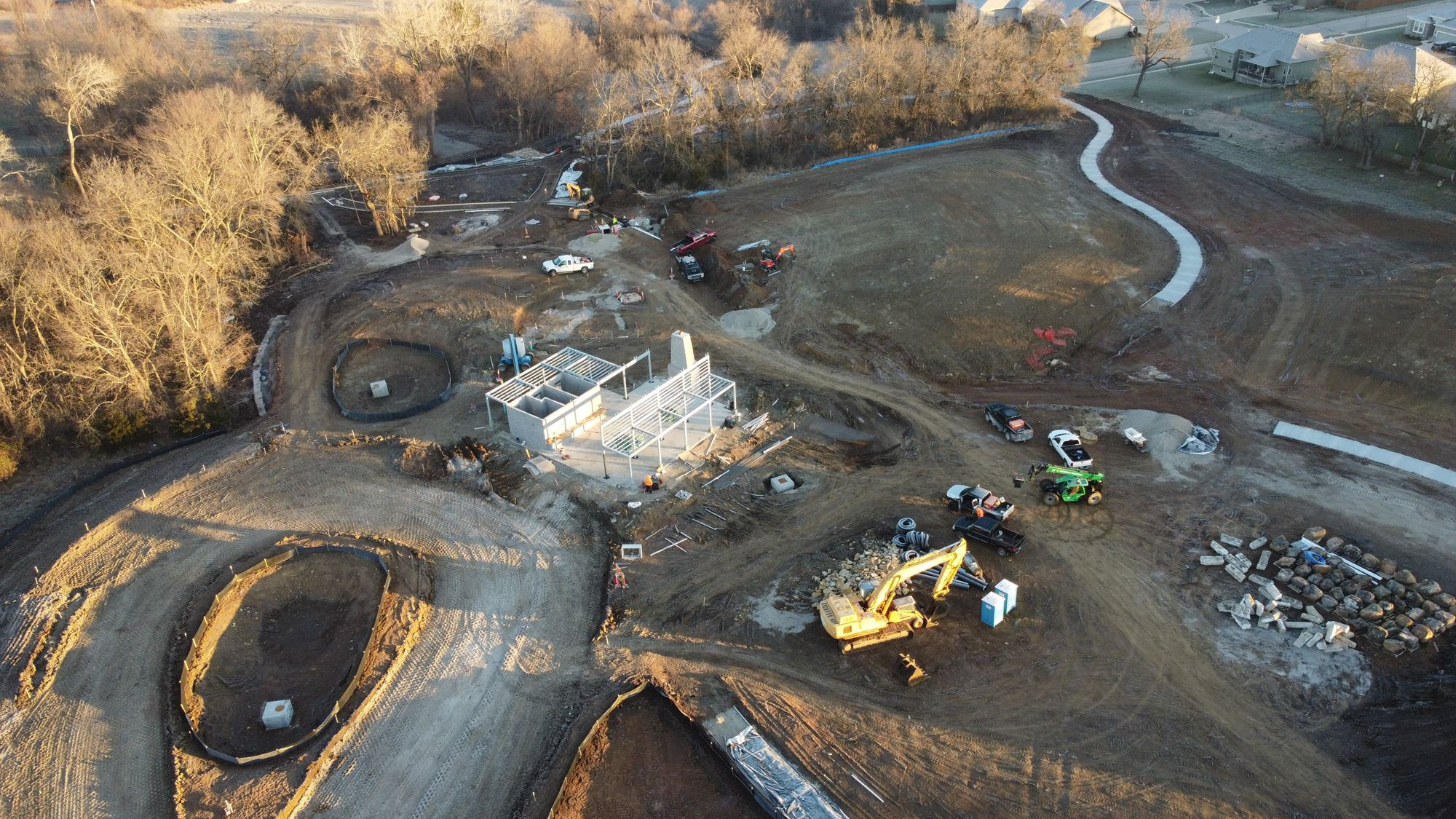 Wilder Bluff Park is Under Construction