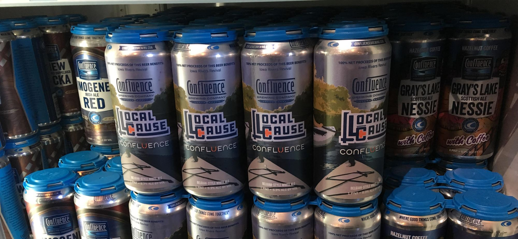 Confluence Beer Collaboration - Available in Stores