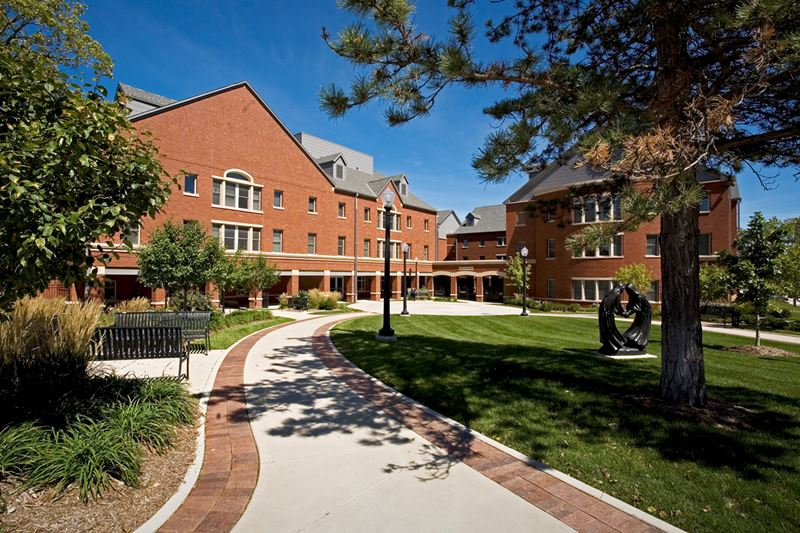 Creighton University: Davis Square Village and Opus Hall Student Residences