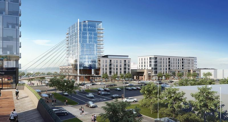 Crossroads Mixed-Use Project / Edina, Minnesota
