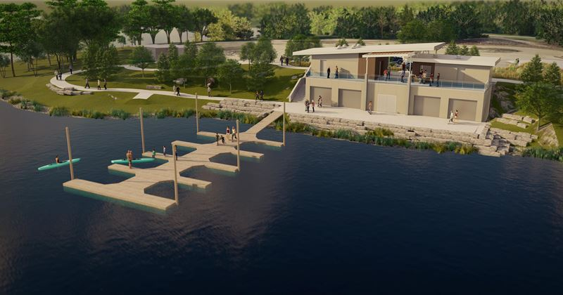 Raccoon River Park Boathouse On Track To Open In June