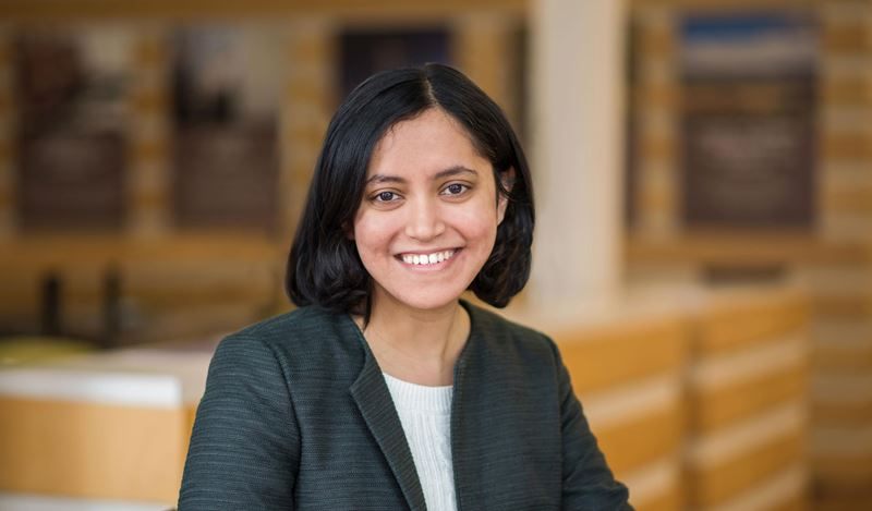 Shraddha Sawant Receives the 2019 Anova Grant