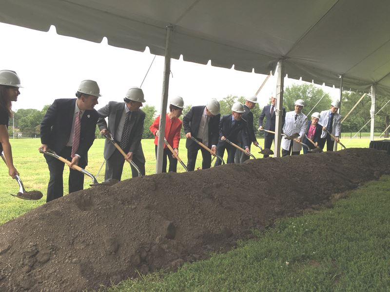KCU Breaks Ground on New Center for Medical Education Innovation