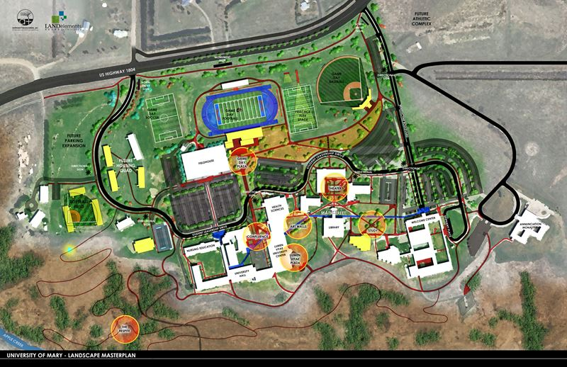 University of Mary: Landscape Master Plan