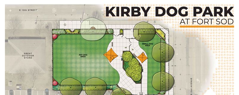 Kirby Dog Park Under Construction