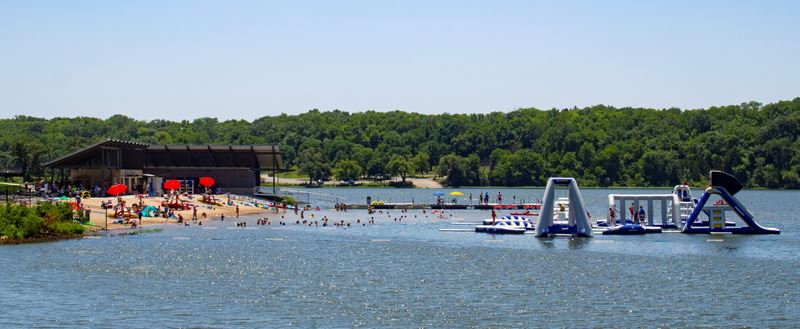 Lake Olathe Open to Residents