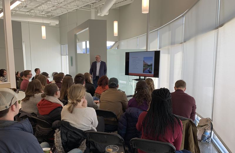 Iowa State Students Visit Confluence