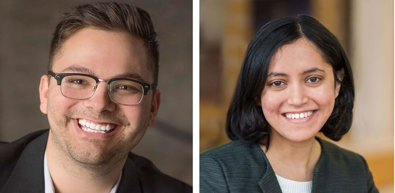 Confluence Welcomes John Aceto and Shraddha Sawant