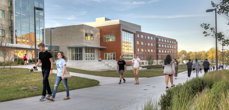 University of Kansas: Daisy Hill Commons / Oswald + Self Residence Halls