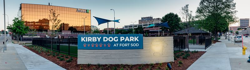 Kirby Dog Park Grand Opening
