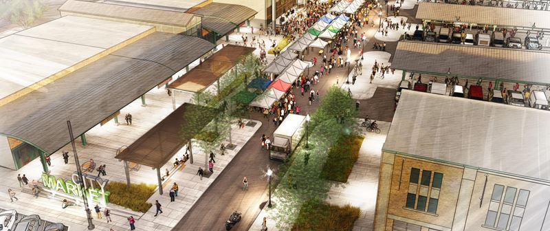 City Market: Walnut Street Extension