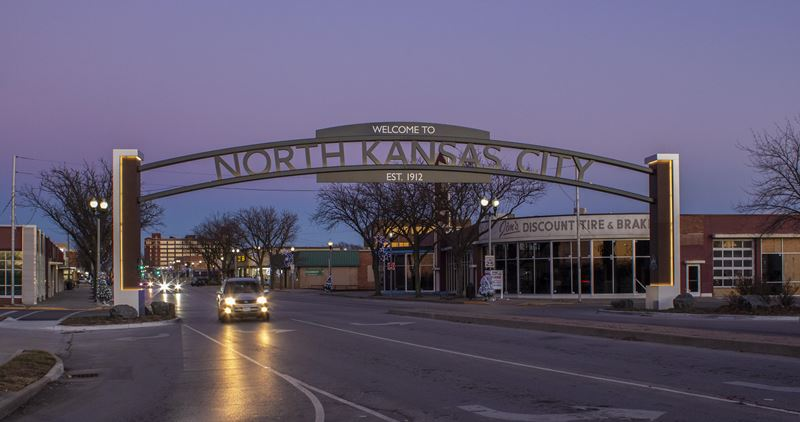 North Kansas City Gateway and Wayfinding Signage