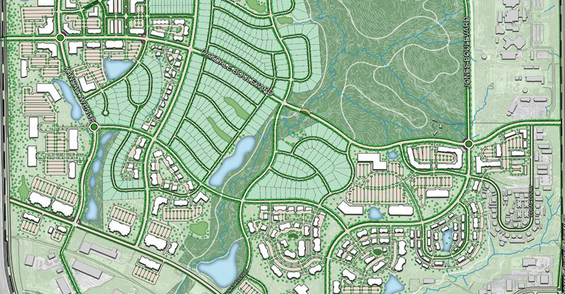 West Land Use Area: Master Plan, Design Guidelines and Zoning Overlay