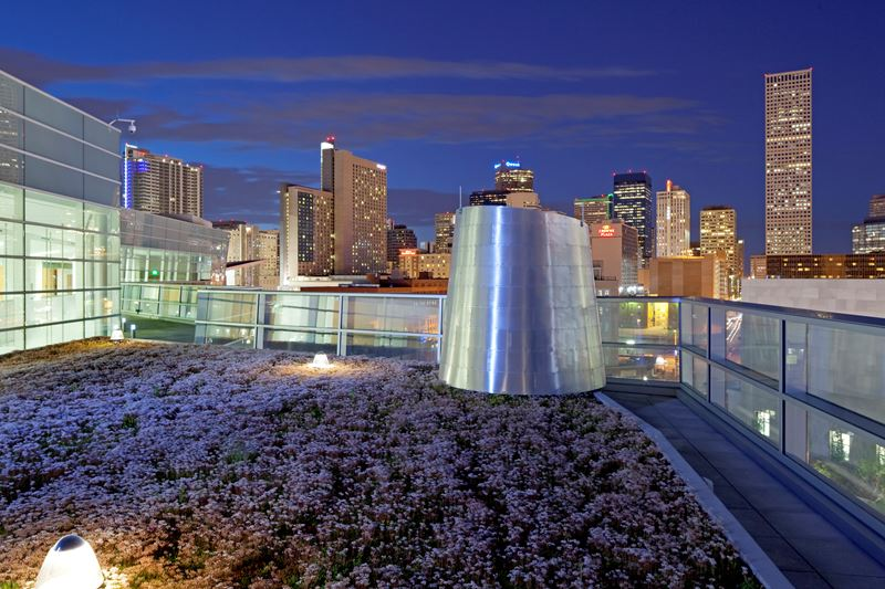 Denver Justice Center: Green Roof