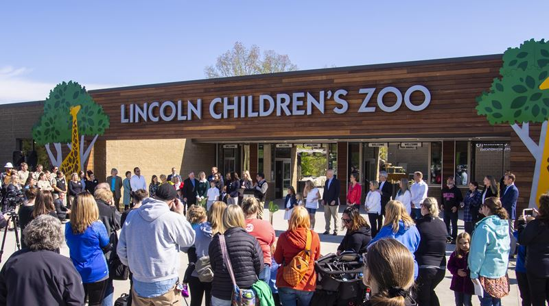 Lincoln Children's Zoo Expansion - Ribbon Cutting