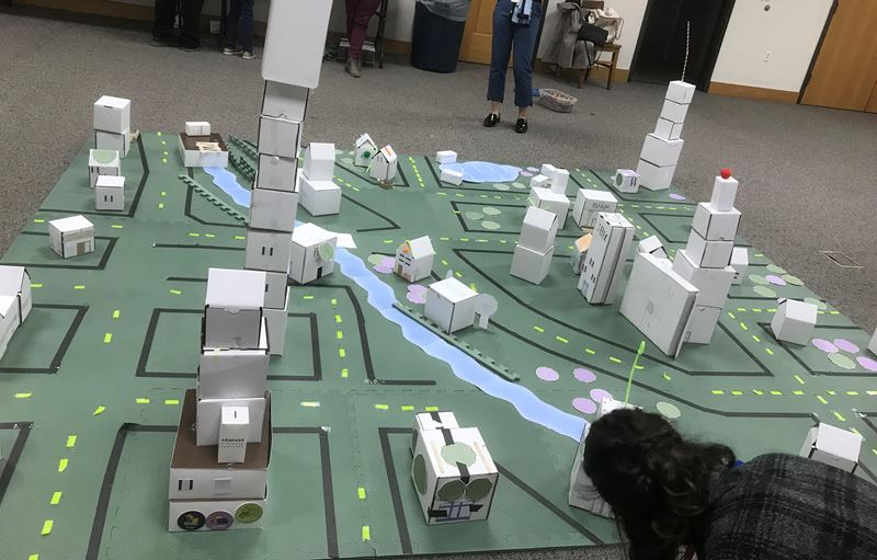 Fairfield Comprehensive Plan - Box City Event